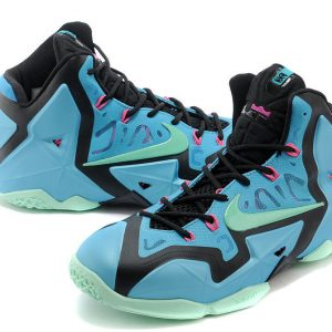 LeBron 11 ??South Beach?? Turquoise/Black-Pink-Mint