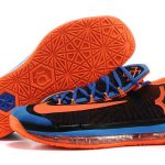 Nike KD 6 VI Elite Black/Royal Blue-Team Orange